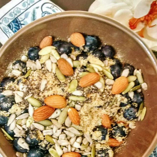 Why I eat ground flax every day High fiber lowhellip