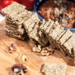 easy gluten free vegan crackers