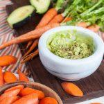 creamy high fiber guacamole
