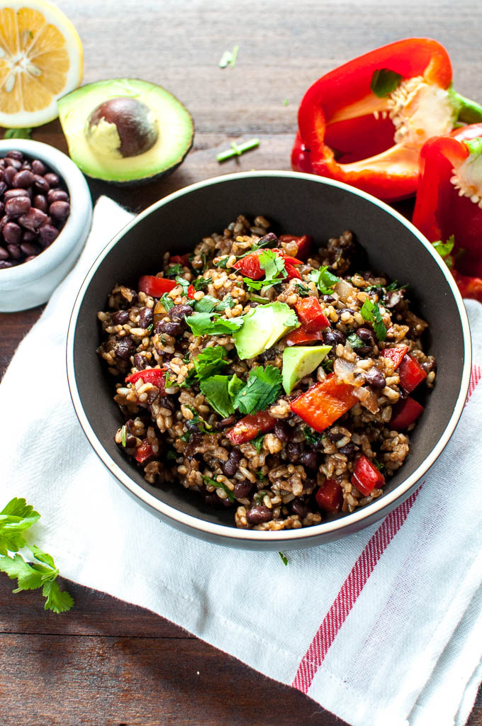 Healthy Gallo Pinto