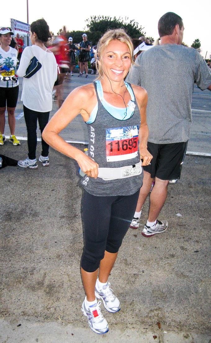 Vegan half marathon