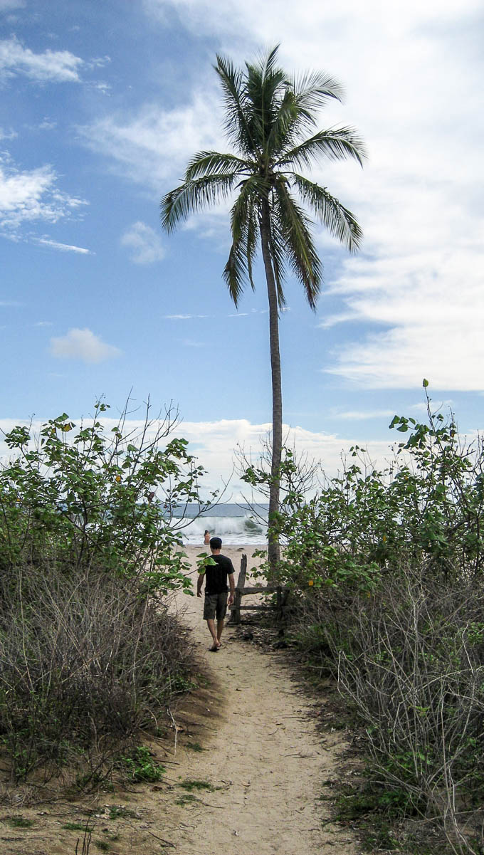 Harmony Hotel to Playa Guinones Costa Rica