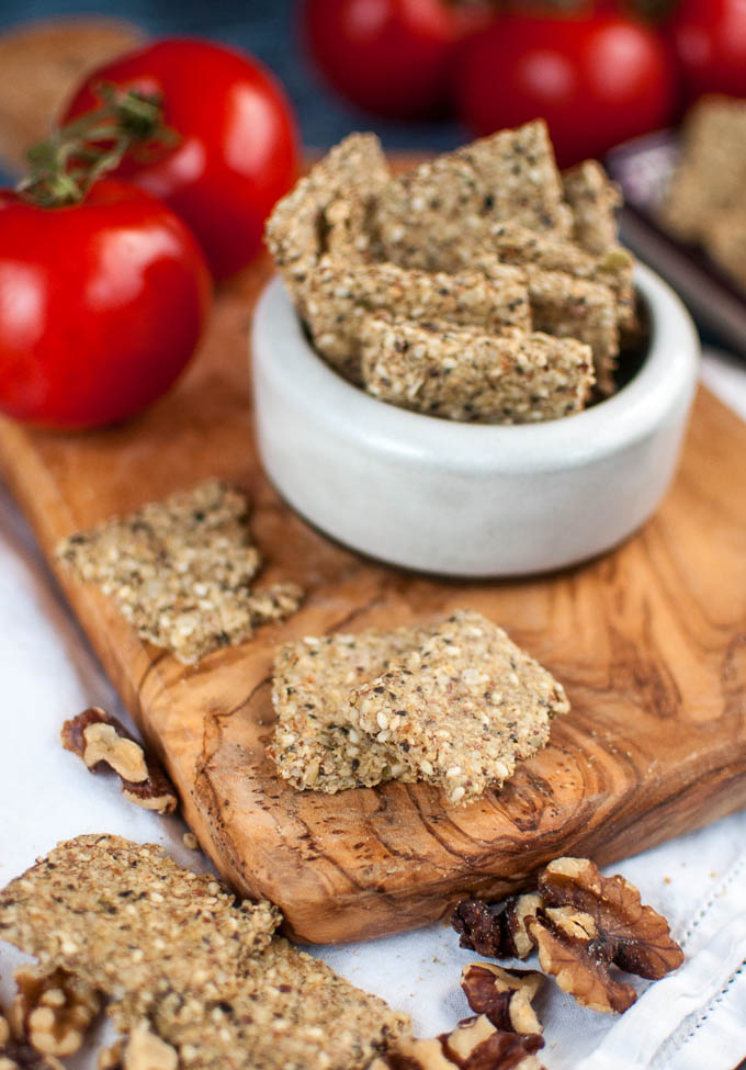 wheat free crackers vegan