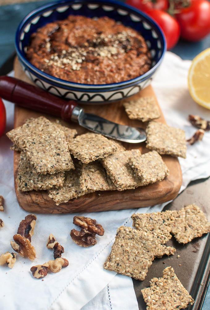vegan crackers easy to make