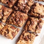 vegan gluten free blondies
