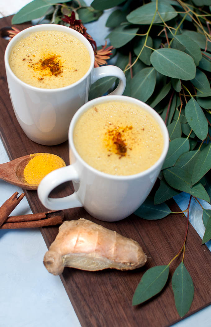 vegan golden milk