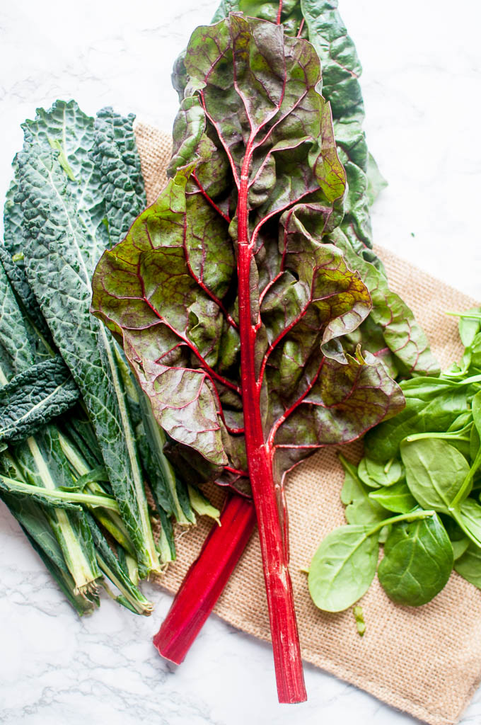 how to eat more healthy greens