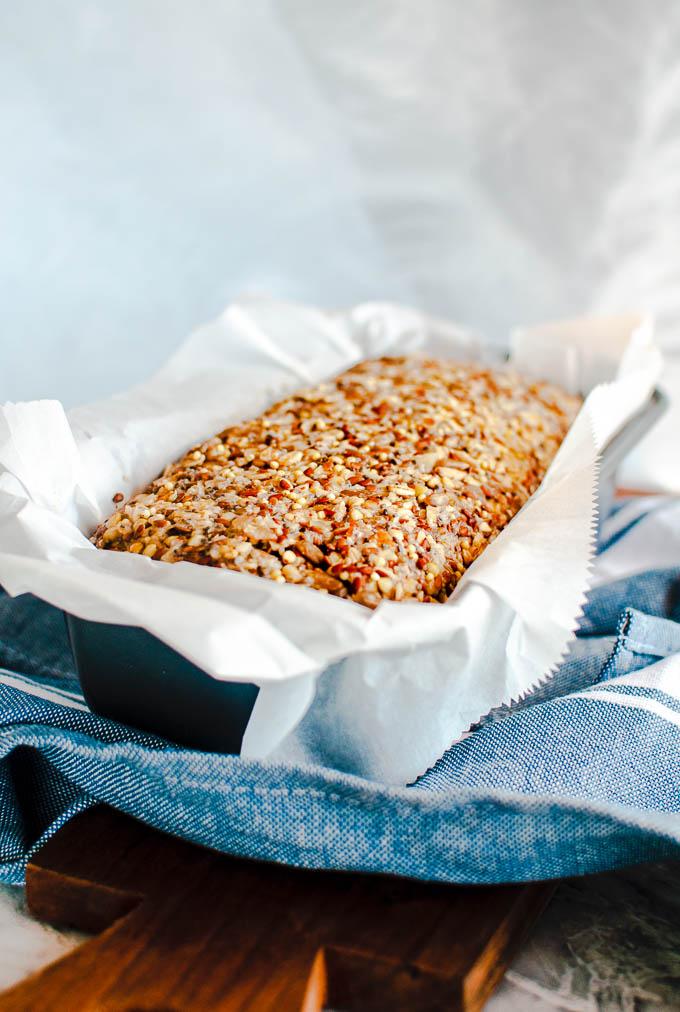 healthy vegan bread