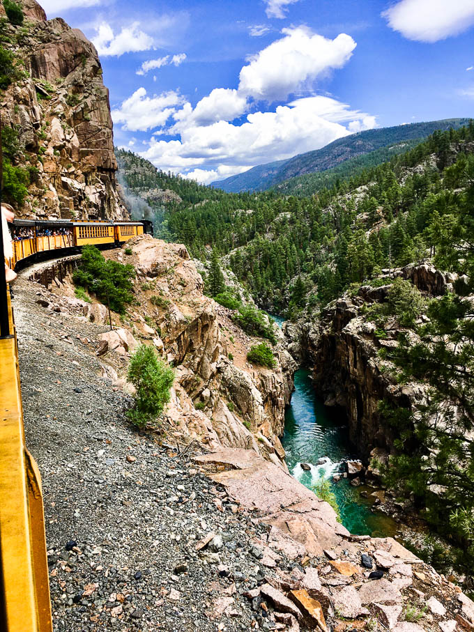 durango silverton stream train